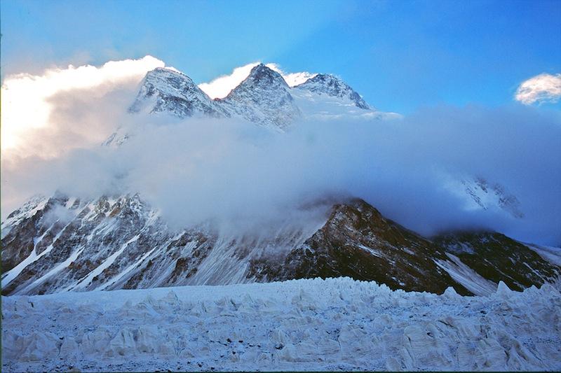 Il massiccio del Broad Peak