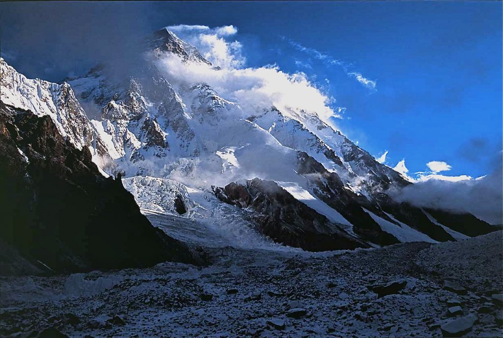 Il versante pakistano del K2. Foto R.M.