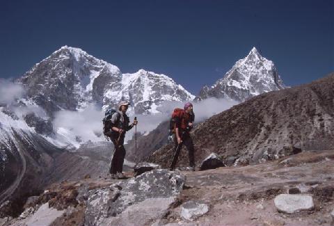 Verso il Lhotse (archivio Meroi-Benet).