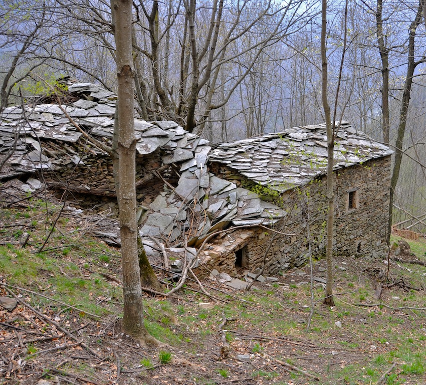 Far casa in montagna