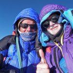 Allen e Allan sulla vetta del Nanga Parbat.