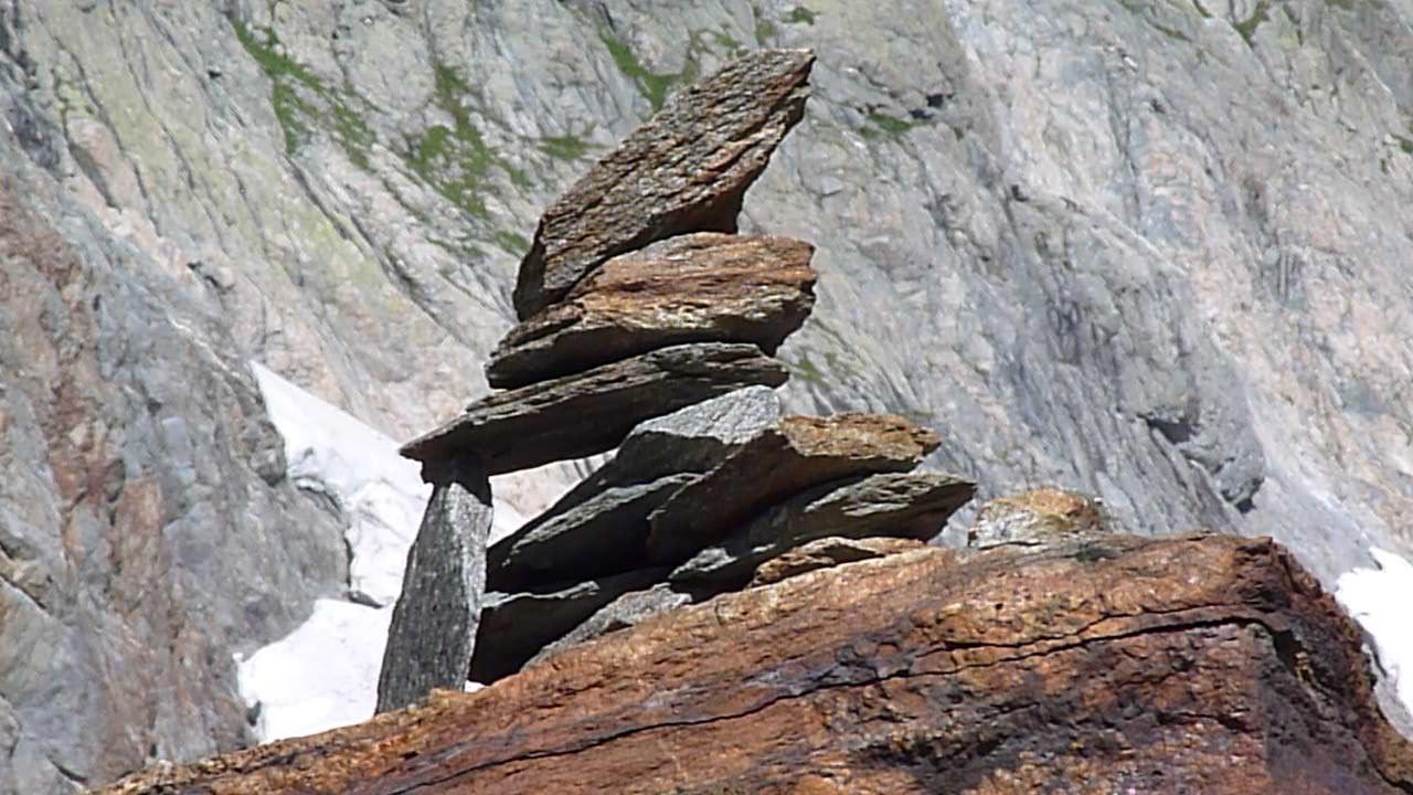 L'ometto di pietre