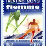francobollo-trentino-fiemme-2013-mondiali-sci-valle-di-fiemme