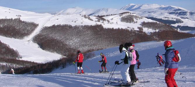 I numeri dello sci