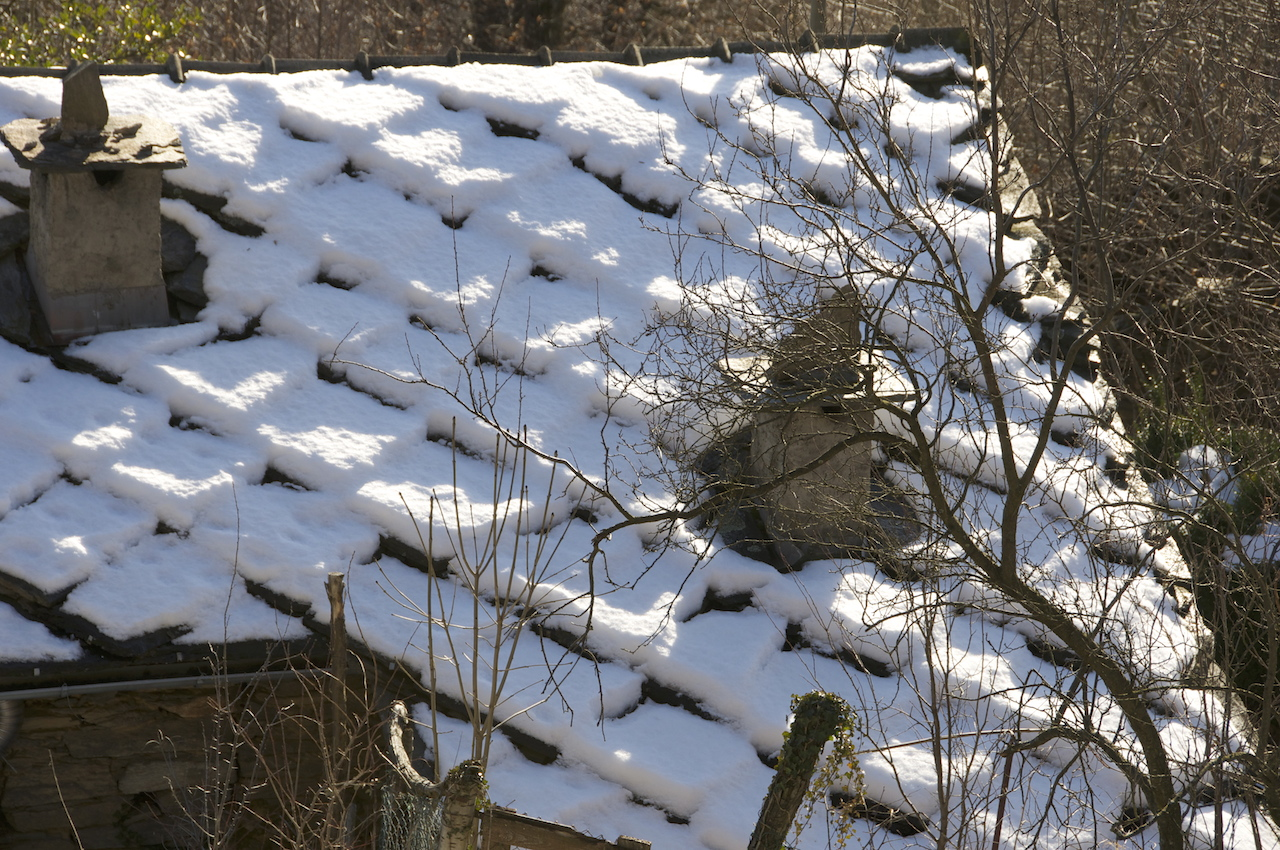 Inverno e neve. Ma…