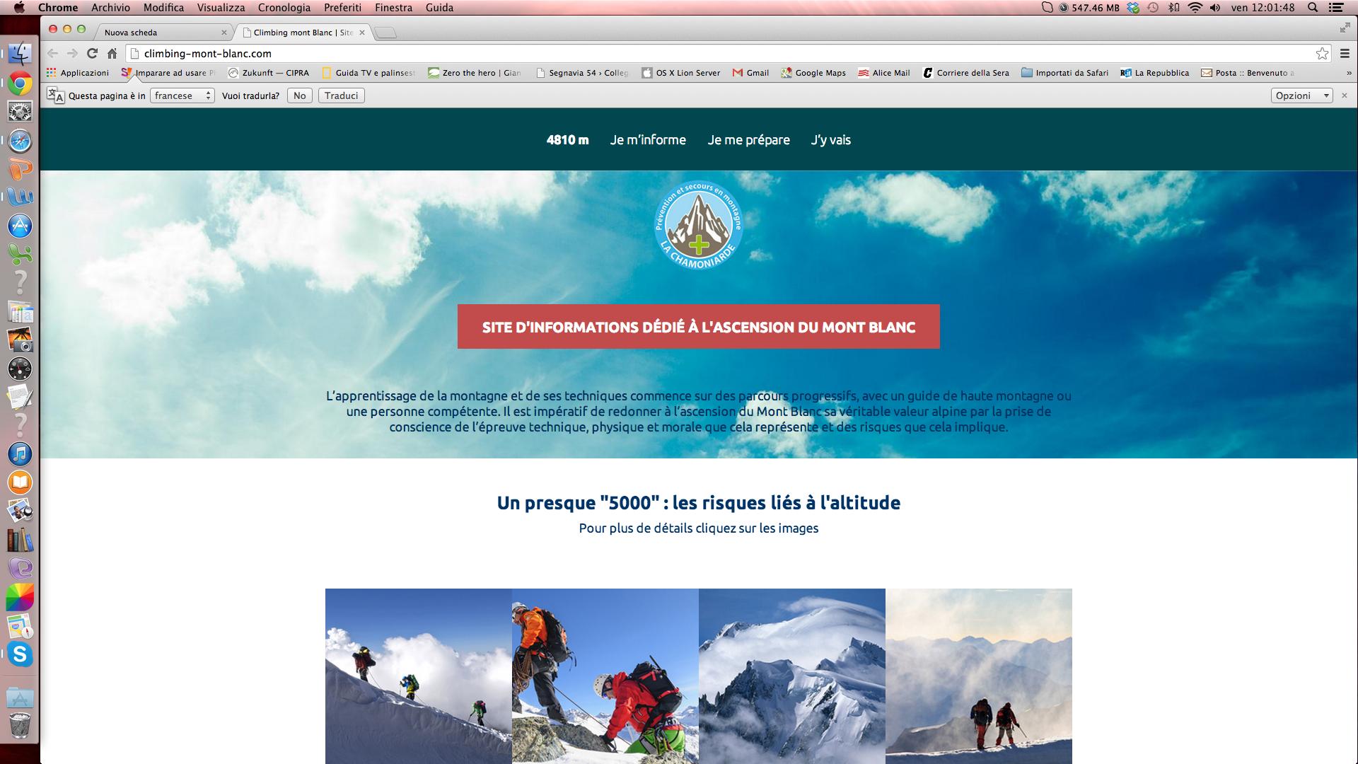 Monte Bianco più sicuro