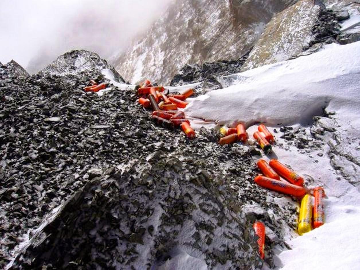Aria spessa sull'Everest