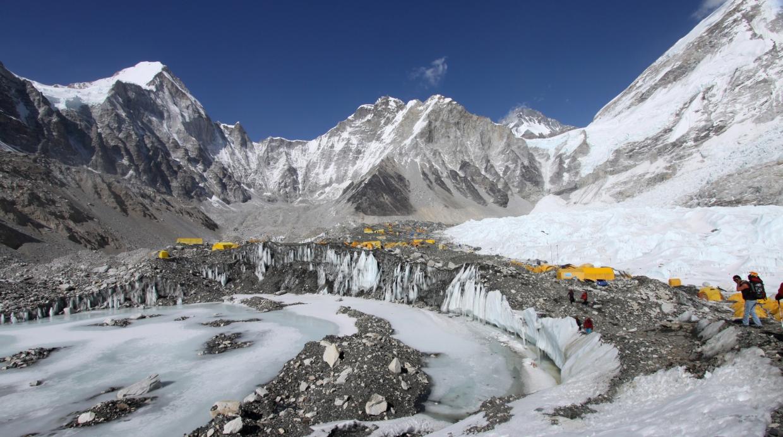 La frattura dell'Everest
