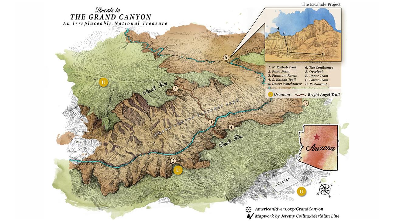 Salvate il Grand Canyon