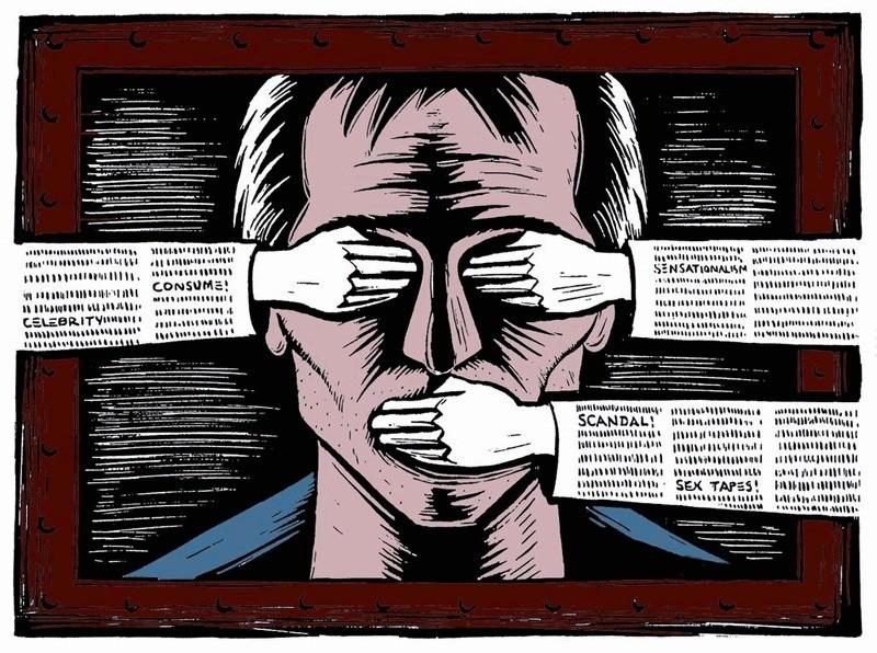 I troppi bavagli del giornalismo italiano