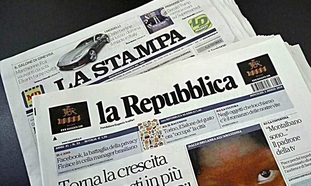 La Stampa non abita più qui